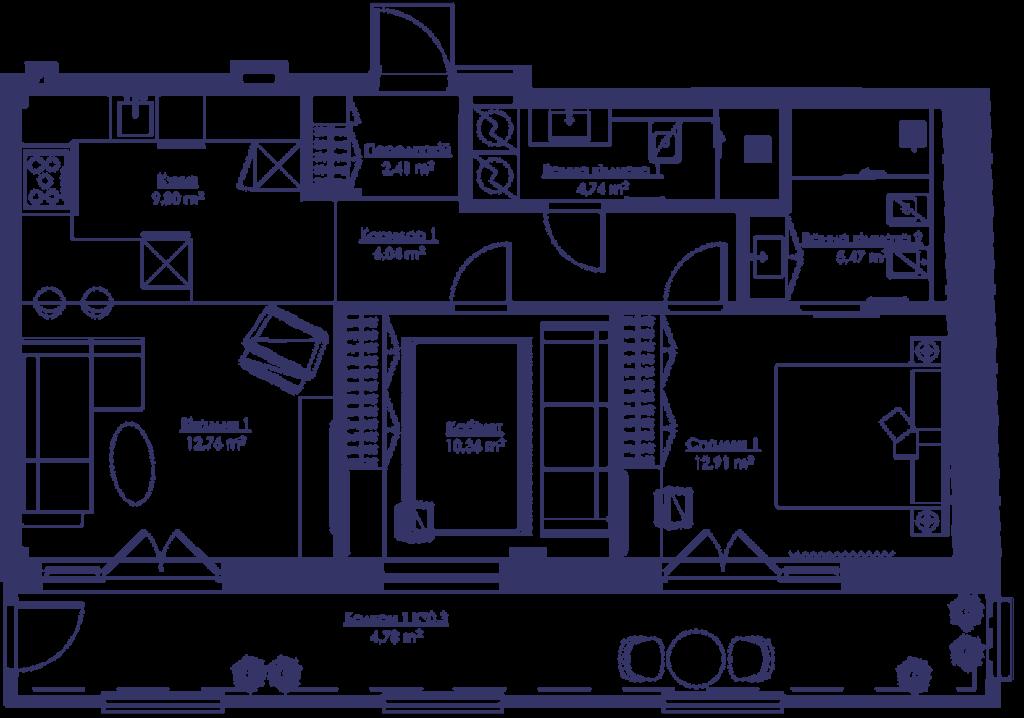 Апартаменты 3G