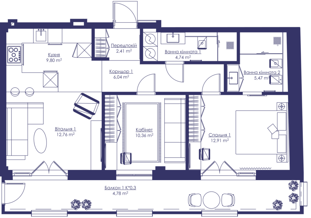Апартаменти 3G