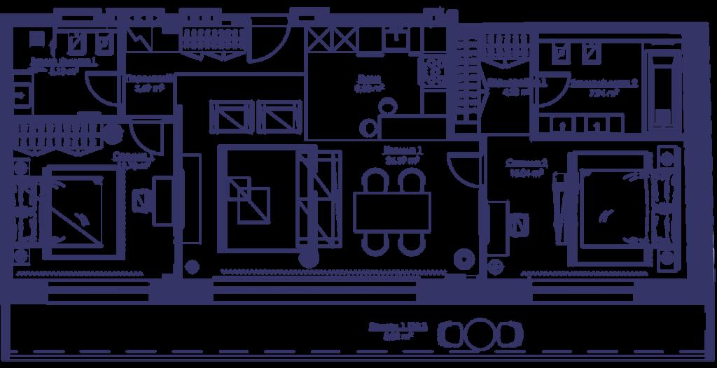 Апартаменты 3V