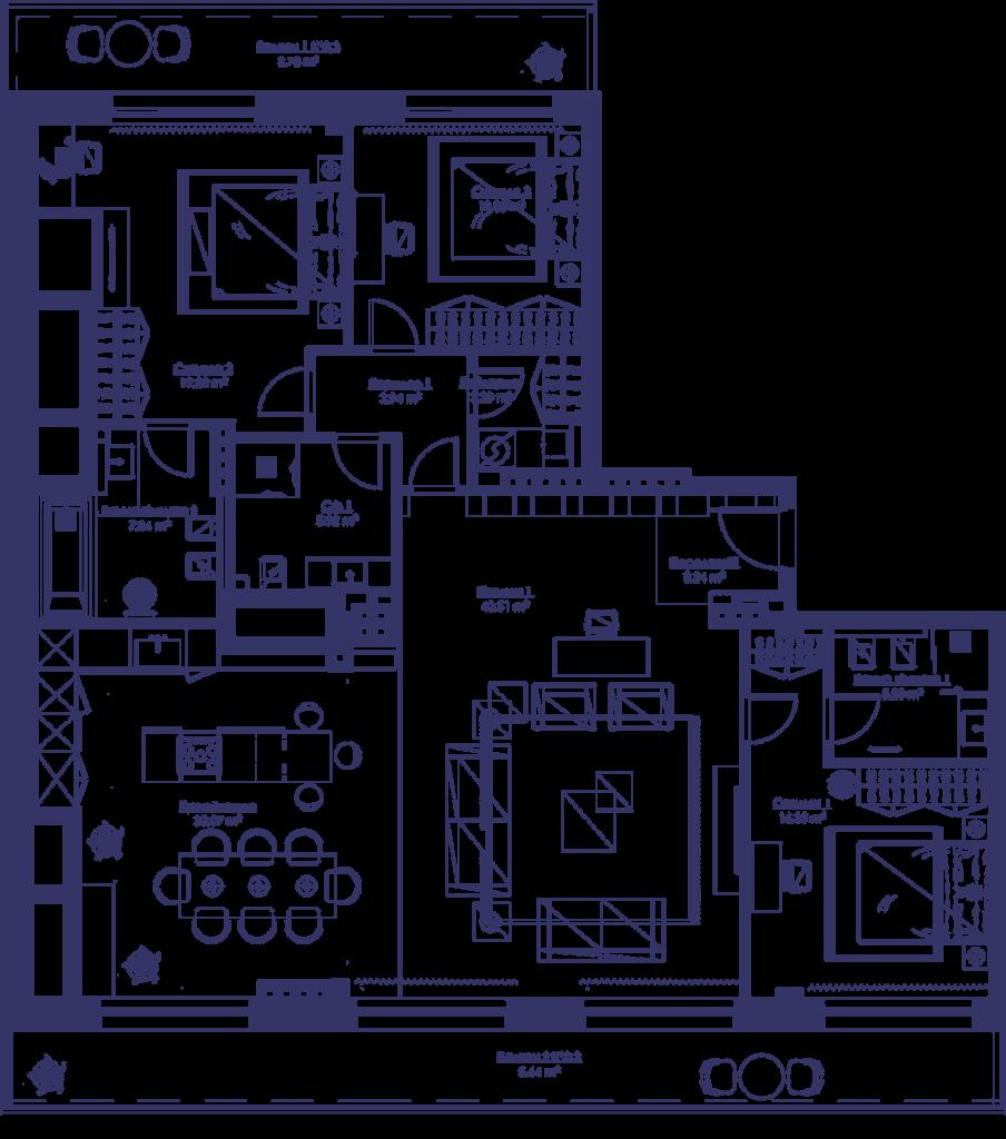Апартаменты 4B