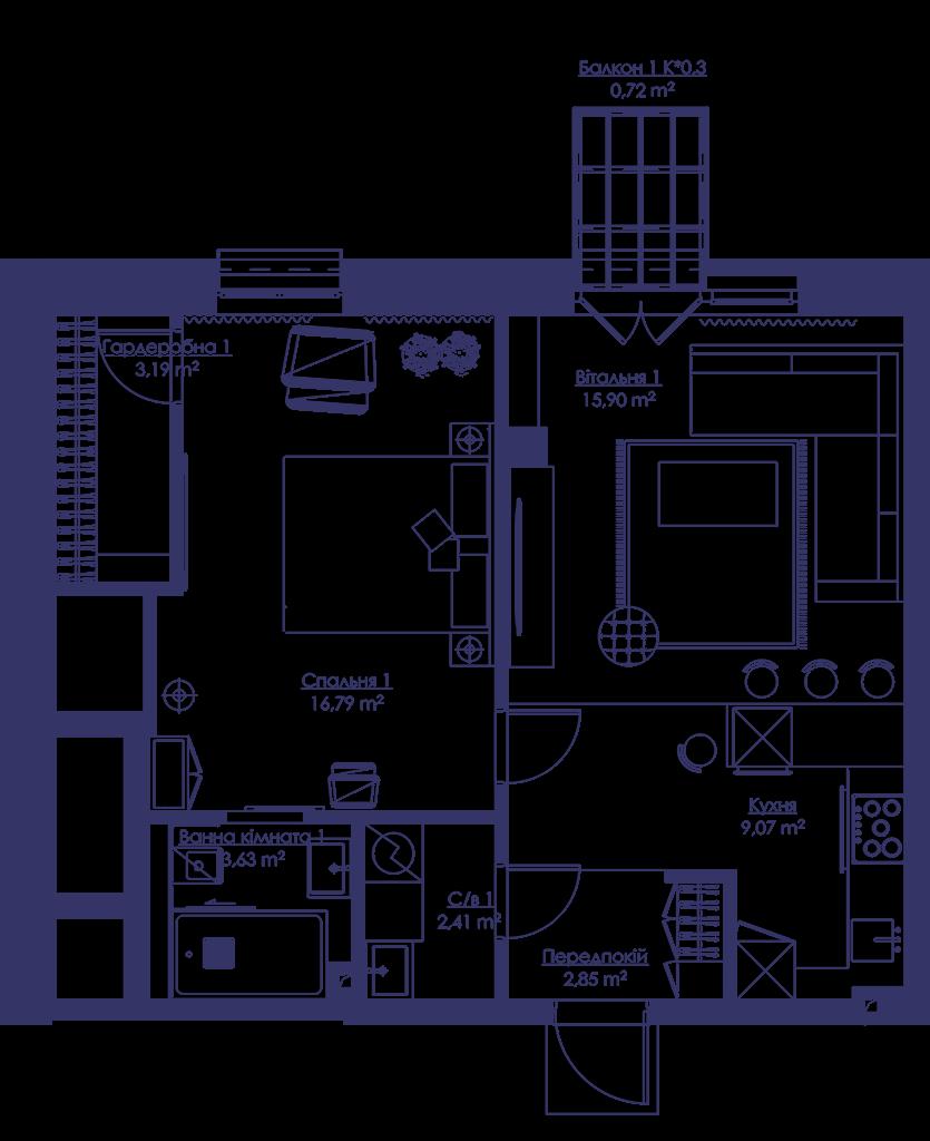 Апартаменты 2V