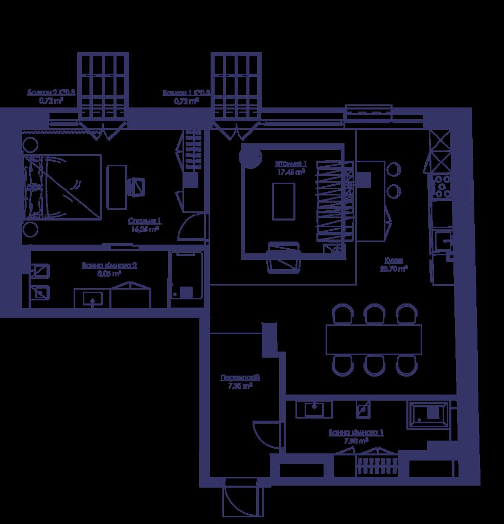 Апартаменты 2G