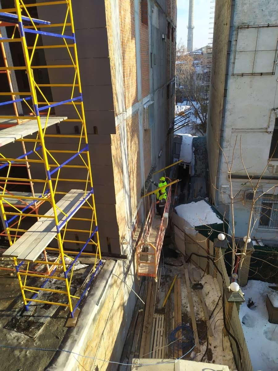 Хід будівництва